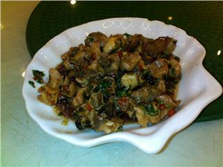 Snail dishes in Saigon cuisine