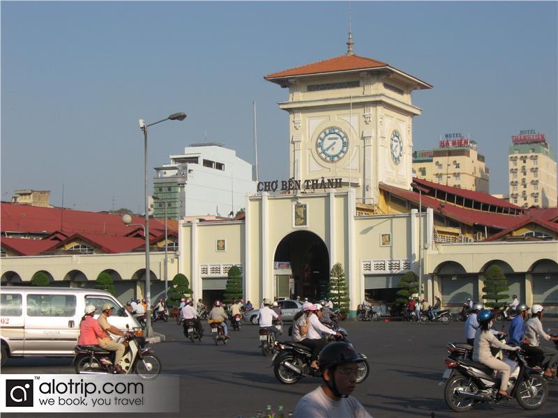 a corner of Ben Thanh Market