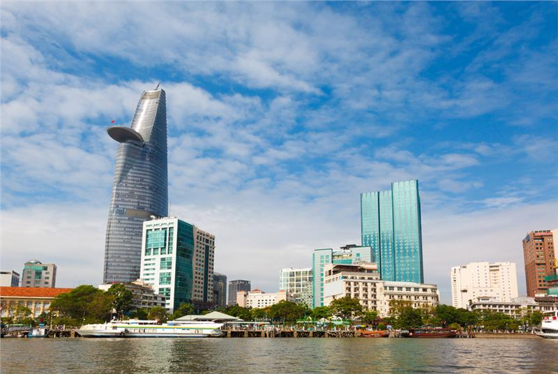Business center in Ho Chi Minh City