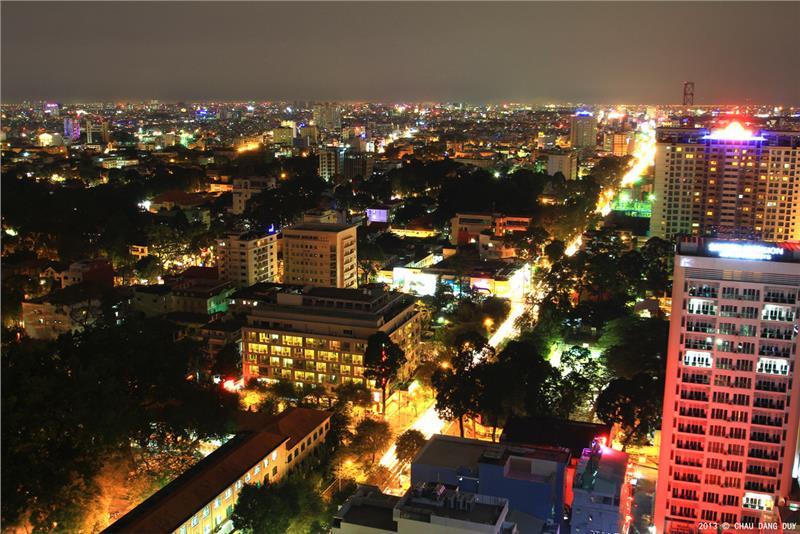 Ho Chi Minh at night