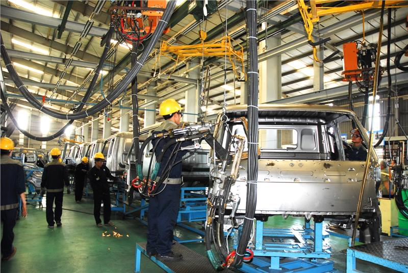 A factory by FDI investment in Ho Chi Minh City