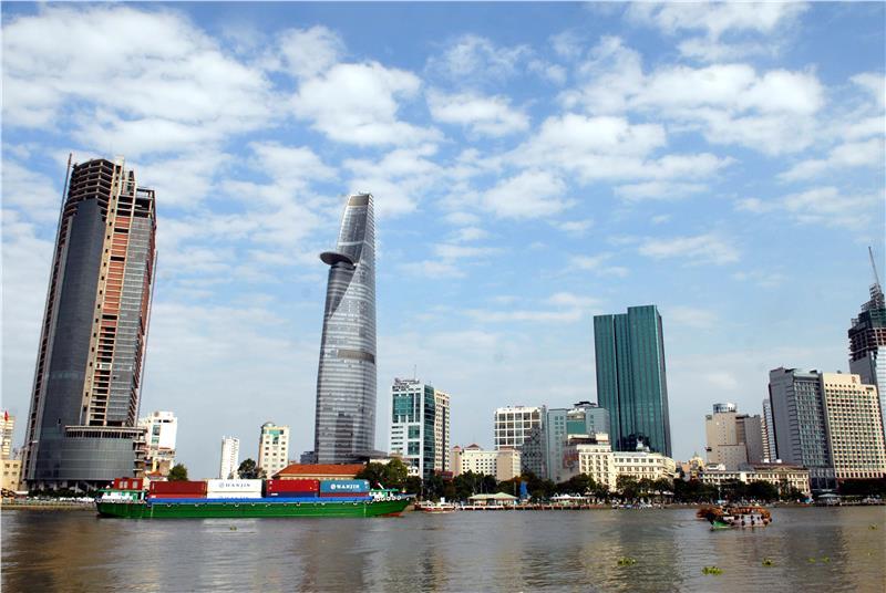 A modern Ho Chi Minh City