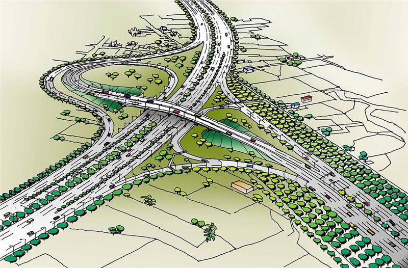 Thu Thiem New Urban Area opens more roads