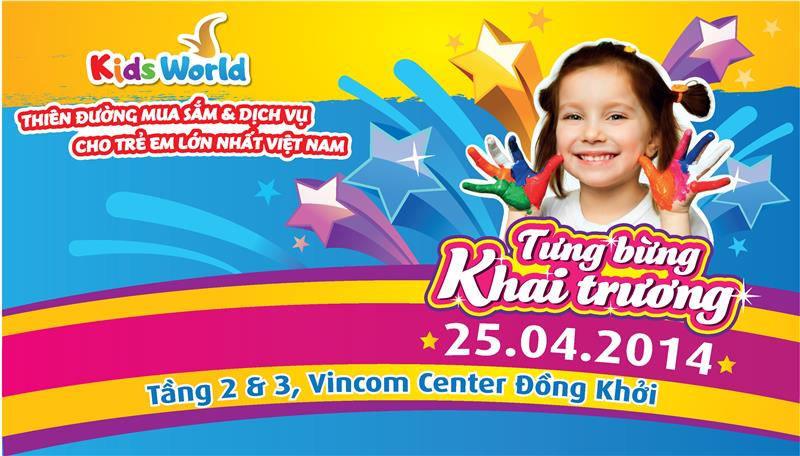 Ho Chi Minh Vincom Center will open Kids World