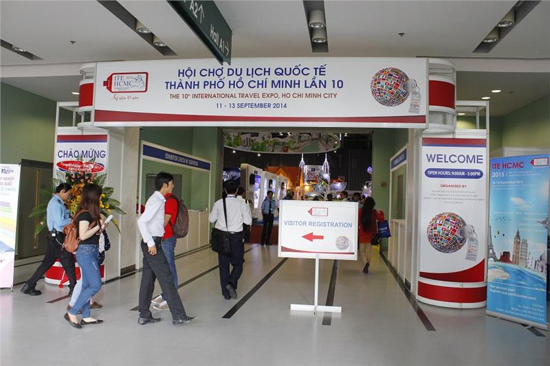 International travel expo in Ho Chi Minh City