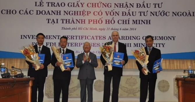 HCM City attracts most FDI in Vietnam in first 10 months