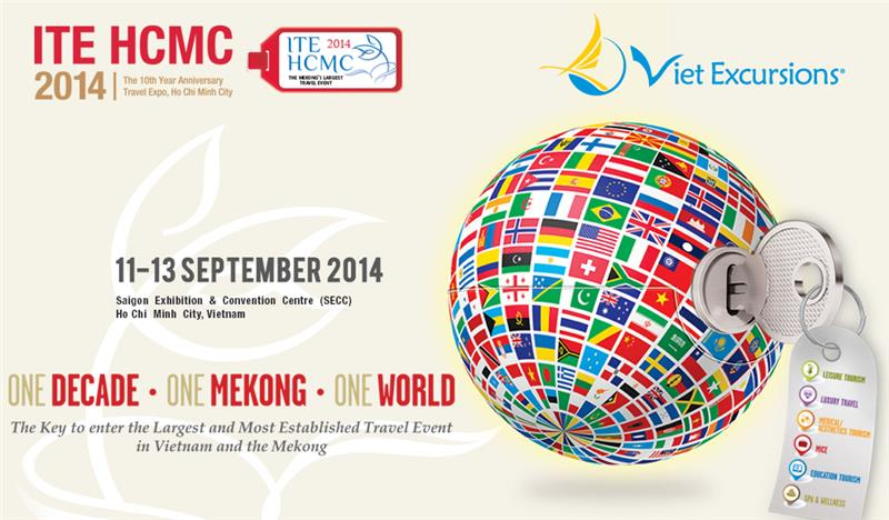 International Travel Expo Ho Chi Minh City 2014 opening