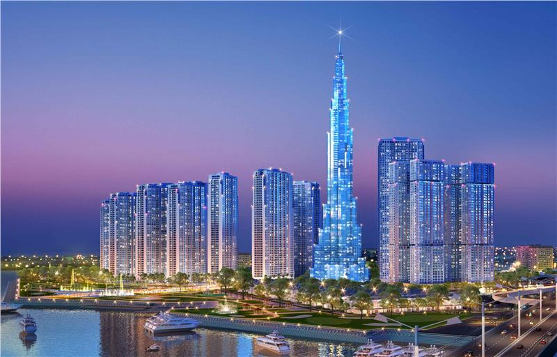Landmark 81 – the highest building in Vietnam