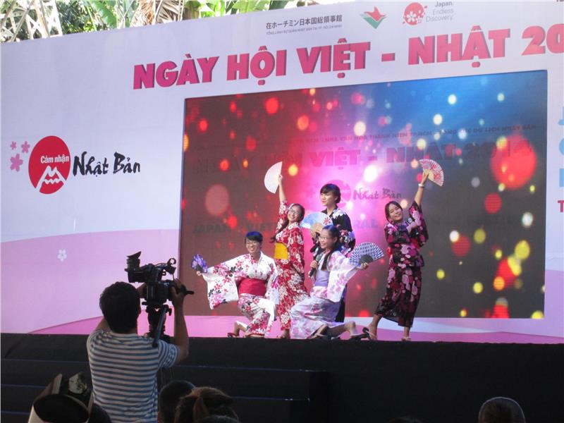Vietnam Japan Day 2014 held in HCM City