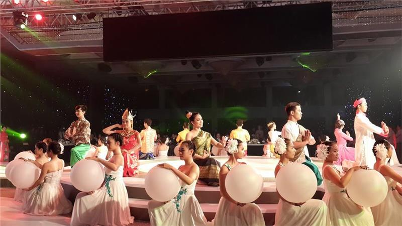 Performances on Opening ITE HCMC