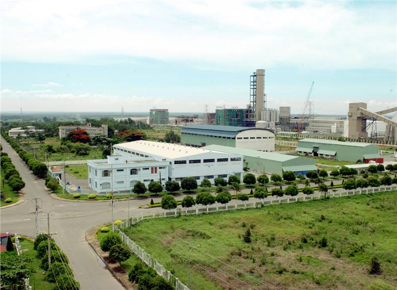 Phong Phu industry zone in Ho Chi Minh City