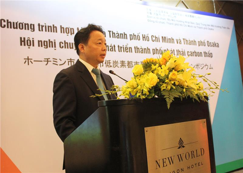 Representative of Ho Chi Minh City at the conference
