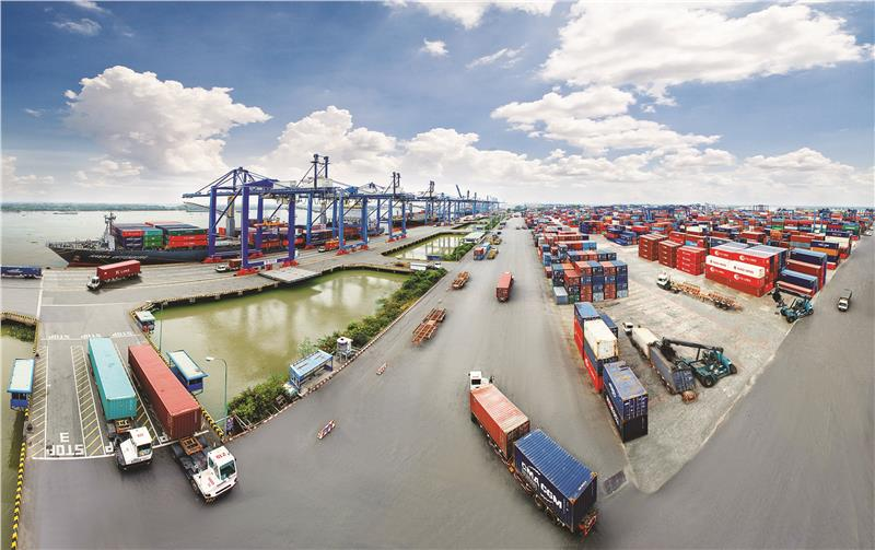 Saigon Port overview