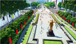 Nguyen Hue Flower Street becomes walking zone in 2015