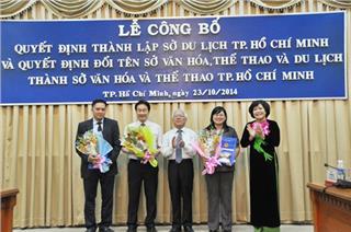 Ho Chi Minh City Department of Tourism established