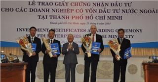 HCM City attracts most FDI in Vietnam in first 10 months
