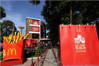 McDonalds Ho Chi Minh hits 1 mil after 6 months
