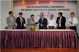 Vietnam copyright in cooperation with South Korea
