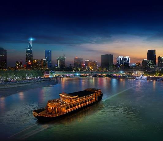 Du thuyền sông Sài Gòn