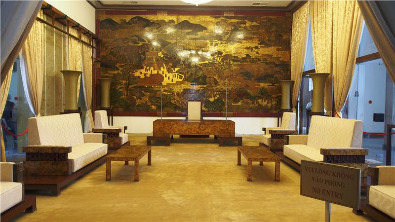 Independence Palace - Receptionroom