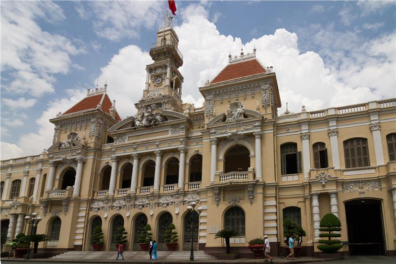 City Hall in Ho Chi Minh City