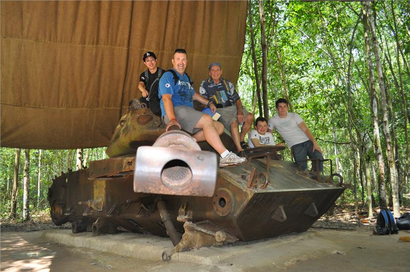 Cu Chi Tunnels Great Tourist Spots In Ho Chi Minh City