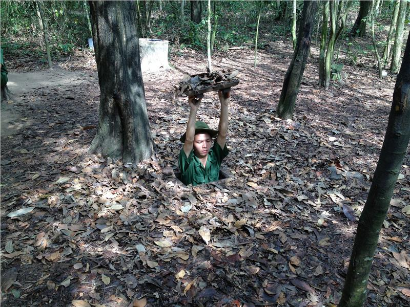 Cu Chi Tunnels - Entrance