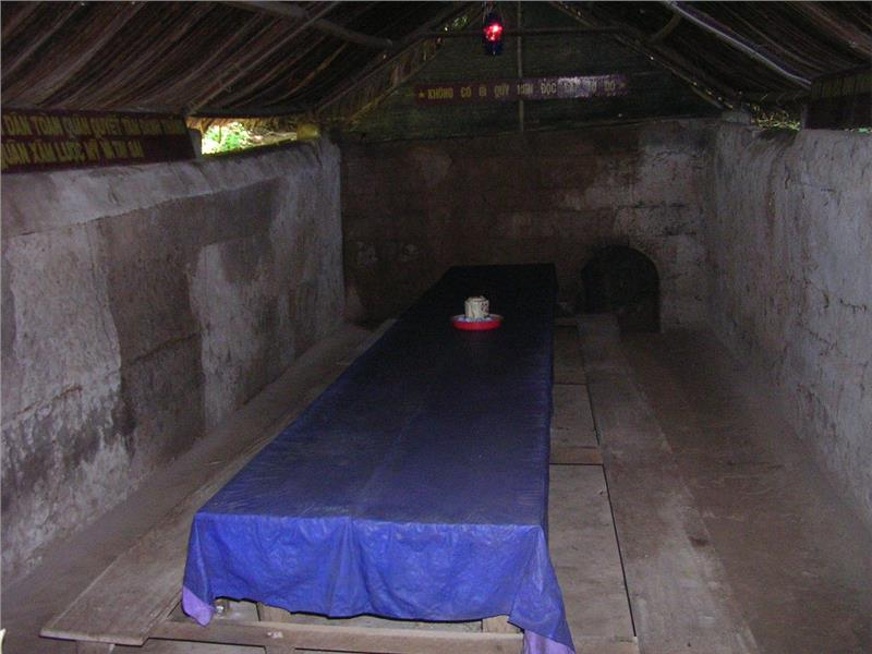 Meeting Space in Cu Chi Tunnels