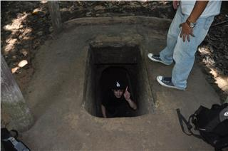 Cu Chi Tunnels exploring trip part 2