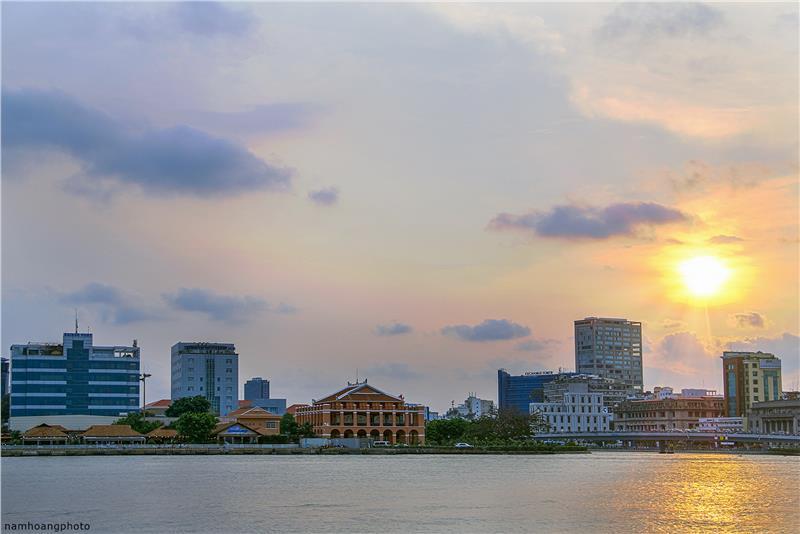 Nha Rong Wharf in Ho Chi Minh City
