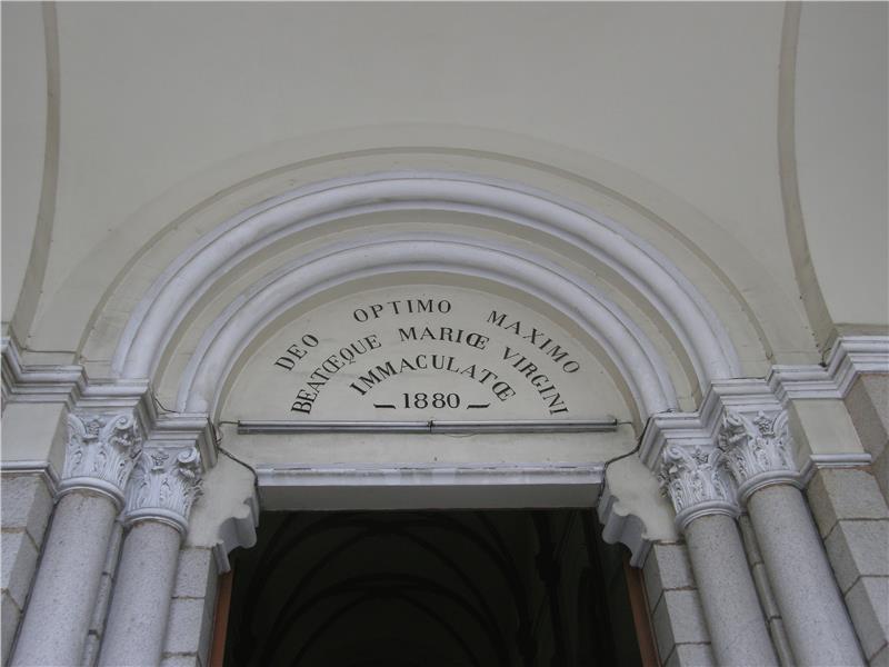 Notre Dame Cathedral Saigon - Entrance