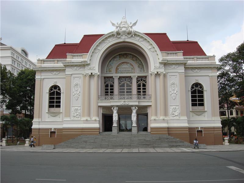 Saigon Opera House facade