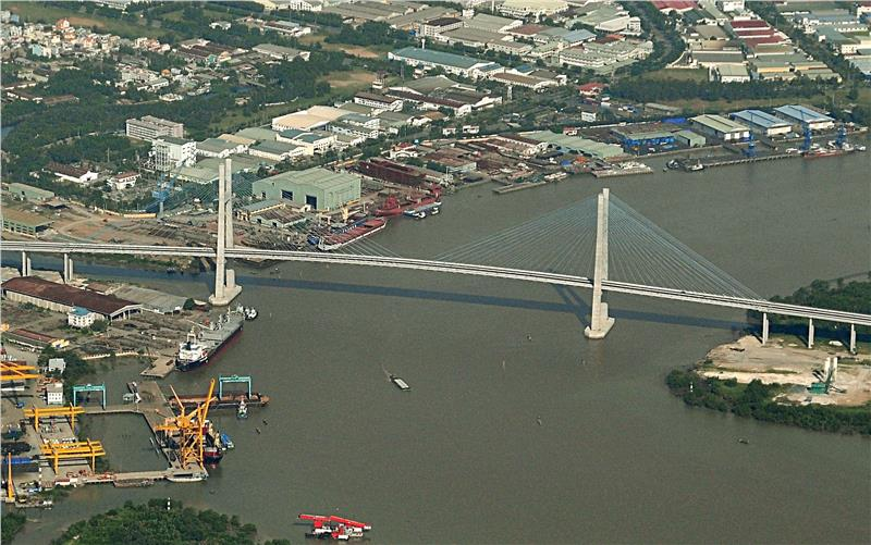 Phu My Bridge in Ho Chi Minh City