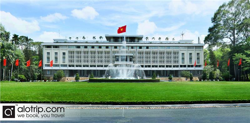 Reunification Hall panorama