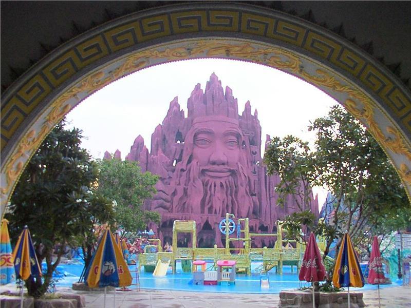 Inside Suoi Tien Amusement Park
