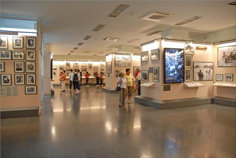 Inside War Remnants Museum