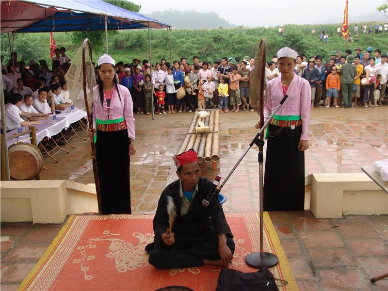 A traditional festival of Muong people in Hoa Binh