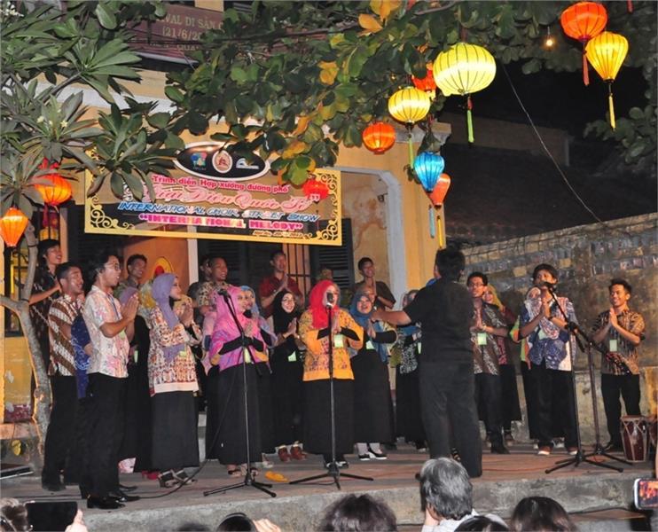 A choir in Vietnam International Choir Competition
