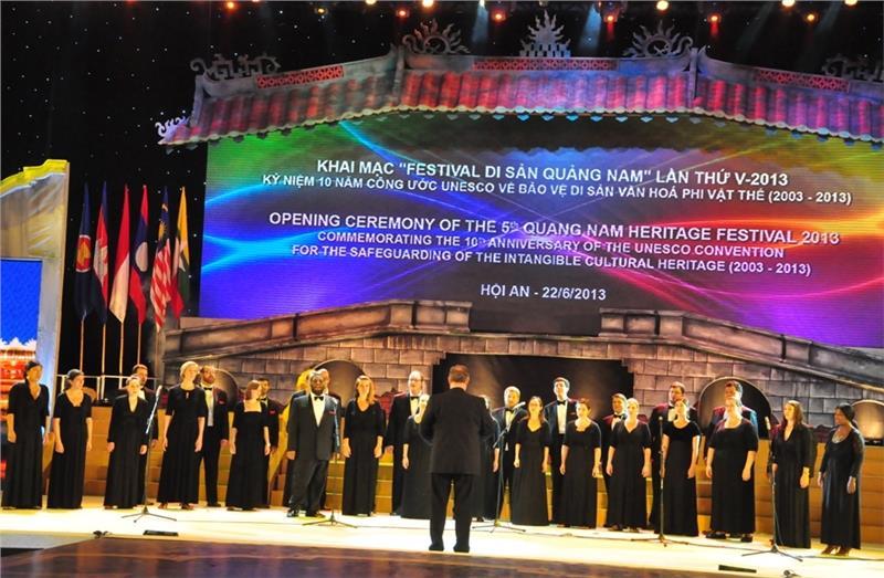 Hoi An hosts the 4th Vietnam International Choir Competition