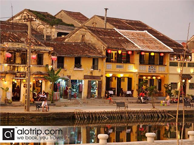 beautiful view in Hoi An Town