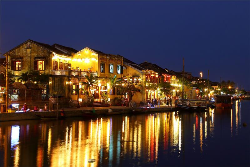 Hoi An Ancient Town night scene