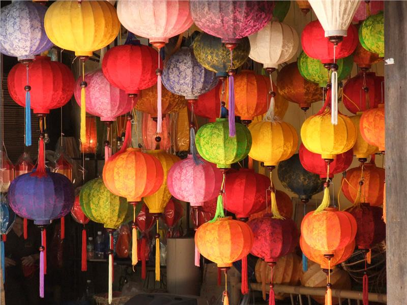 Lanterns in Hoi An Ancient Town