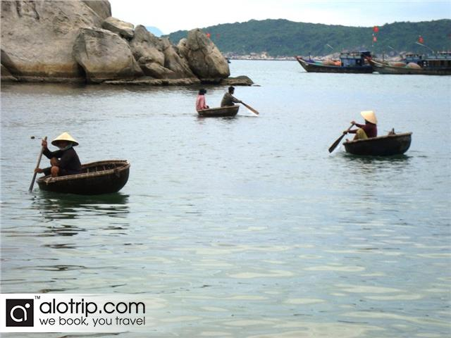 Bai Lang fishing village in the miorning