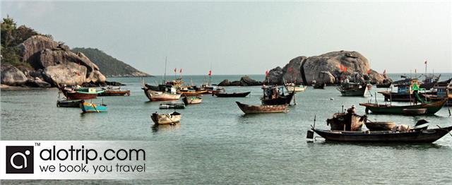 a beautiful corner of Bai Lang fishing village