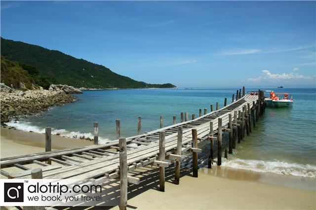 Cu Lao Cham island in the sun