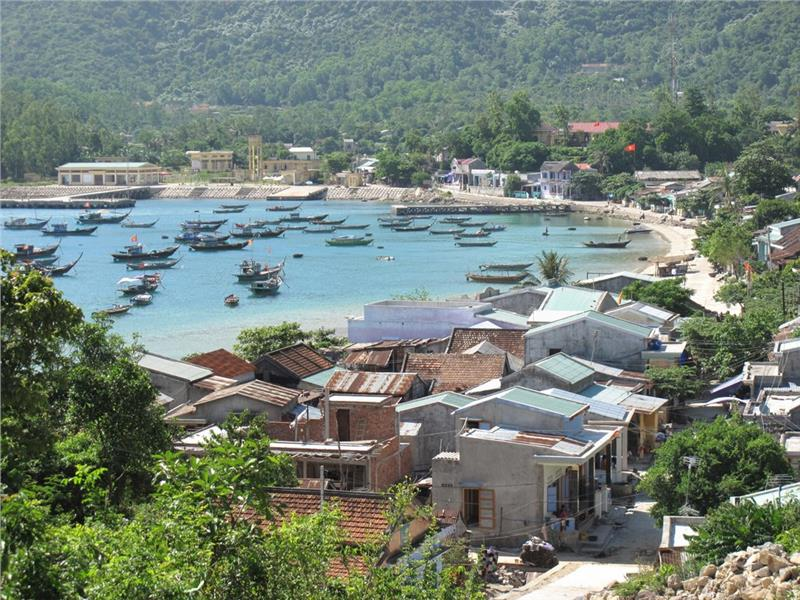 Village on Cham Island