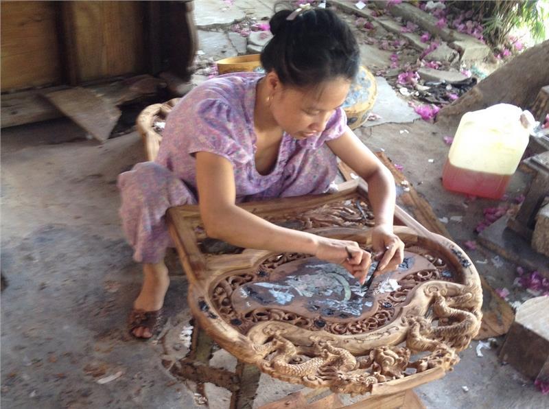Handicraft in Hoi An