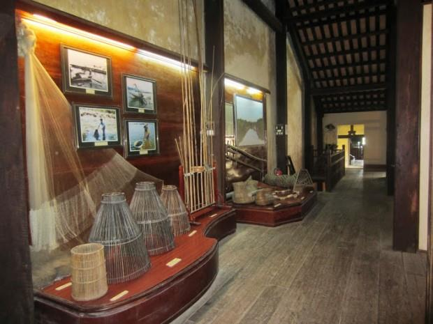 Artifacts at Hoi An Museum of Folk Culture