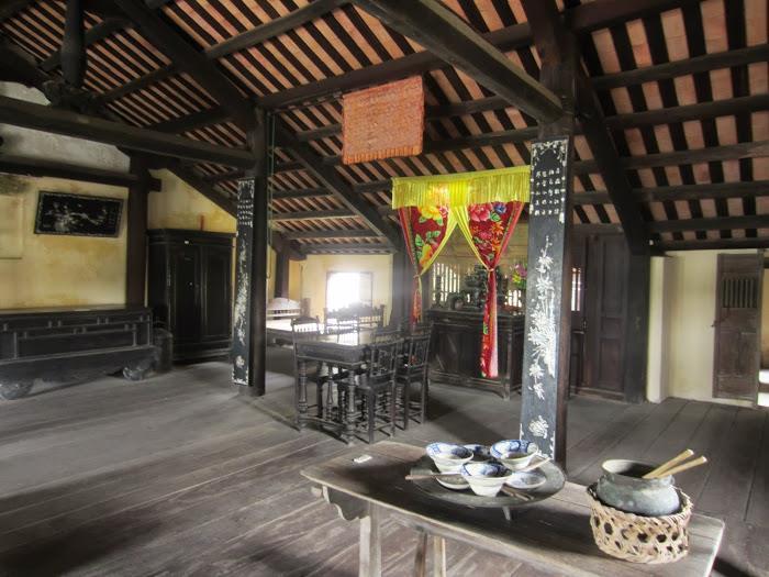 Inside Hoi An Museum of Folk Culture