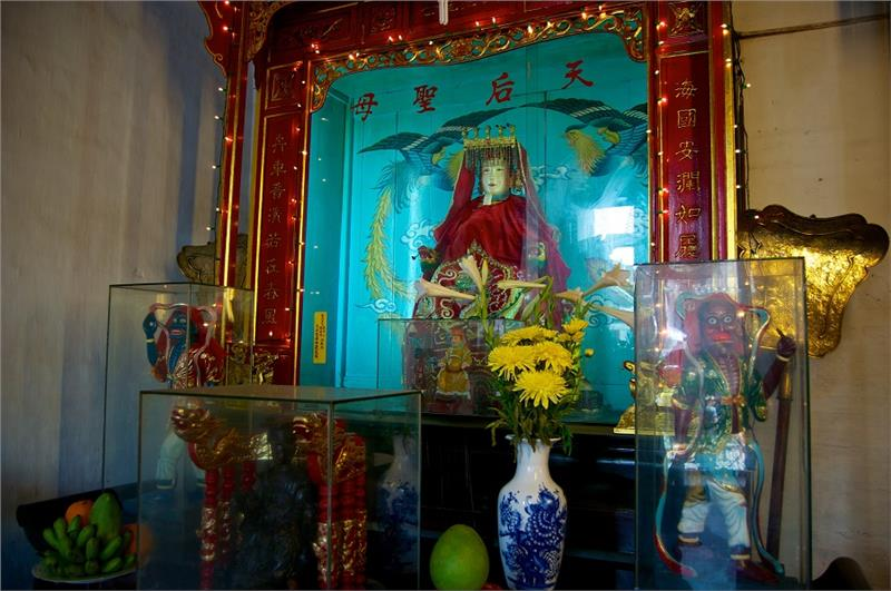 Shrine at Cantonese Assembly Hall